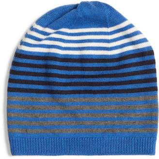 Eileen Fisher Stripe Wool Beanie