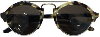 Illesteva Brown Plastic Sunglasses