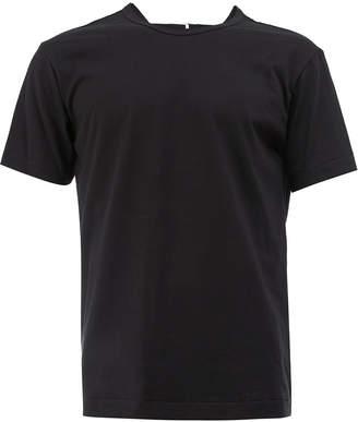 Comme des Garcons open back T-shirt