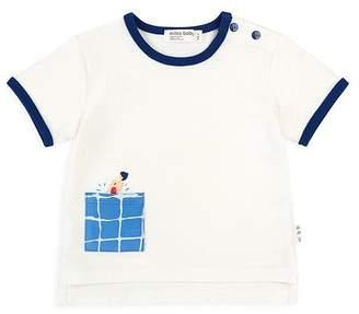Miles Baby Boys' Grid Pocket Tee - Baby