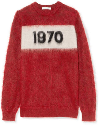 Bella Freud 1970 Mohair-blend Sweater - Red
