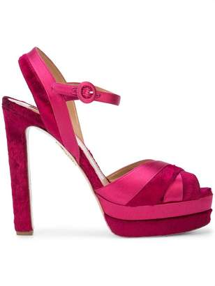Aquazzura Coquette platform sandals