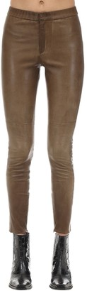 Etoile Isabel Marant Iany Leather Leggings