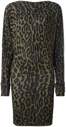 Alexandre Vauthier leopard print dress