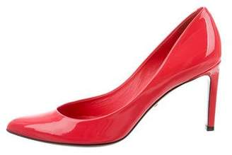 Gucci Patent Leather Pointed-Toe Pumps