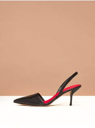 Diane von Furstenberg Mortelle Slingback Heels