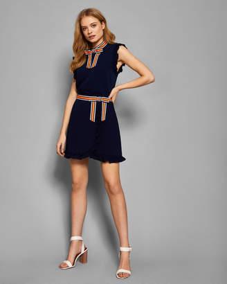 Ted Baker XZENIA Bow mini skirt