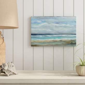 Three Posts 'Seashore' Print