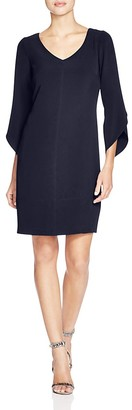 Laundry by Shelli Segal Tulip Sleeve Dress $168 thestylecure.com