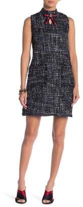 Gracia Tweed Sleeveless Dress