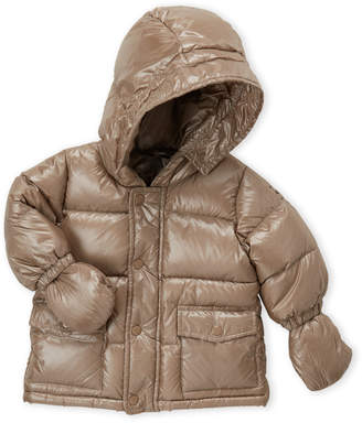 ADD Infant Girls) Hooded Down Puffer Coat