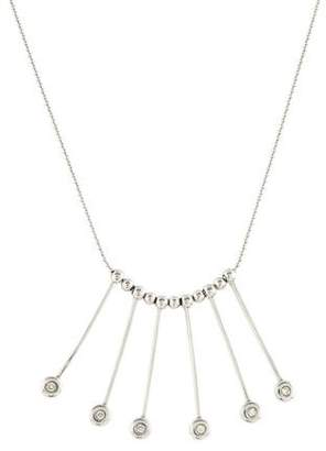 14K Diamond Accent Fringe Necklace