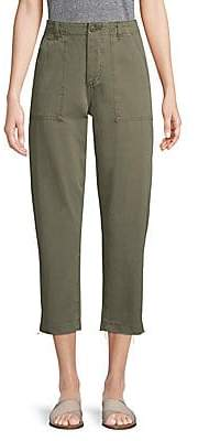 Joe's Jeans Women's High-Rise Straight-Leg Cropped Pants