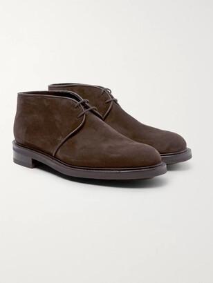 John Lobb Grove Suede Chukka Boots - Men - Brown