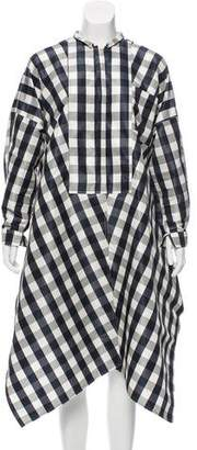 Maison Rabih Kayrouz Gingham Oversize Dress w/ Tags