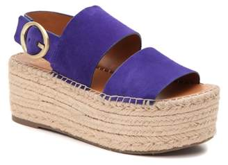 Franco Sarto Mariana Espadrille Platform Sandal