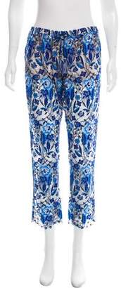 Calypso Lace Mid-Rise Pants