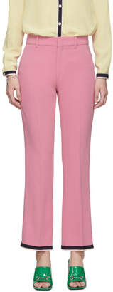 Gucci Pink Bootcut Trousers