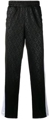 Fila logo print track pants