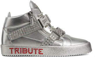 Giuseppe Zanotti Men's Limited Edition Tribute to Michael Jackson High-Top Sneakers