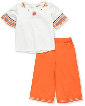 Rare Editions Little Girls' Toddler 2-Piece Pants Set Outfit