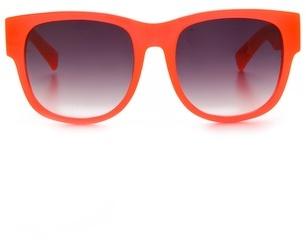 Matthew Williamson Curved Square Sunglasses