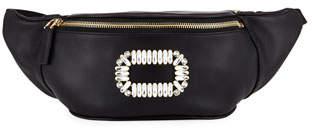Roger Vivier Embellished Leather Fanny Pack