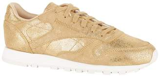 Reebok Leather Classic Shimmer Sneakers