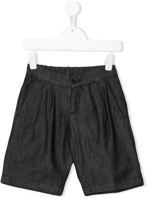 Paolo Pecora Kids classic pleated shorts