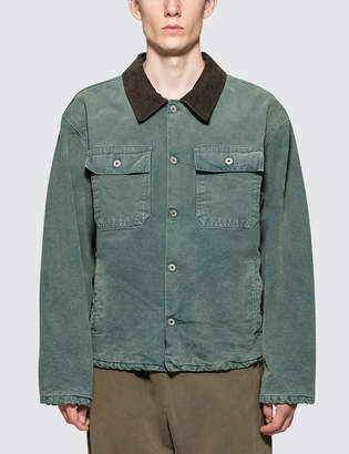 Yeezy Flannel Lined Canvas Jacket