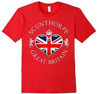 Scunthorpe UK Love Heart Funny T-Shirt
