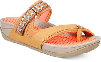 Bare Traps Denni Outdoor Slide Sandals Women's Shoes $59 thestylecure.com