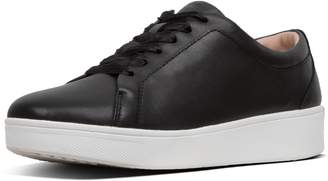 FitFlop Rally Ribbon-Lace Leather Sneakers