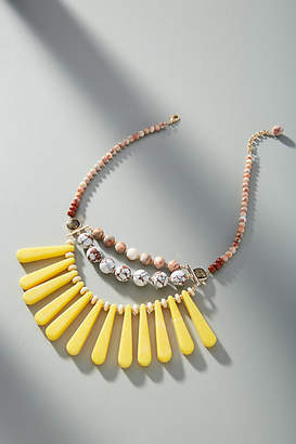 Anthropologie Mona Bib Necklace
