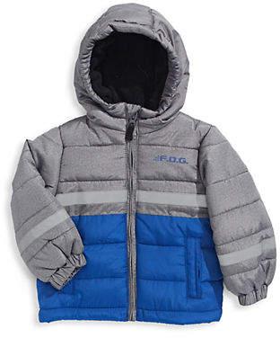 London Fog F.O.G. BY Baby Boy's Colourblock Zip-Up Jacket