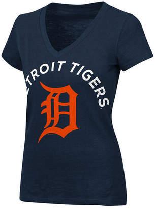 G-iii Sports Women's Detroit Tigers Classic Logo V-Neck T-Shirt