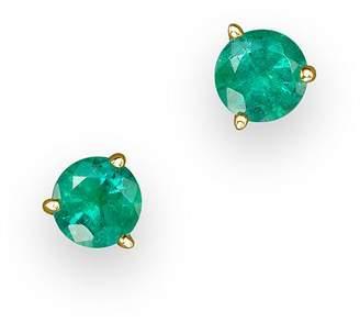 Bloomingdale's Emerald Stud Earrings in 14K Yellow Gold - 100% Exclusive