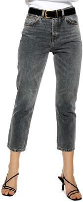 Topshop Editor High Waist Crop Jeans
