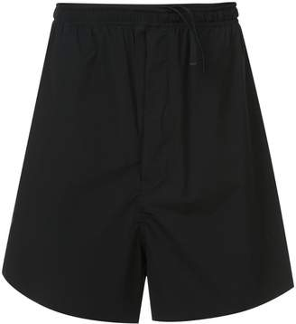Unravel Project elasticated waist shorts