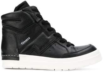 Cinzia Araia lace-up hi-top sneakers