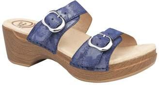 Dansko Leather Slide Sandals - Sophie