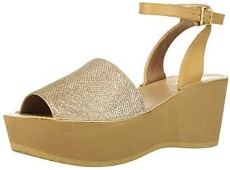 Kenneth Cole Reaction Women's Dine with Me EVA Platform Sandal Ankle Strap Wedge