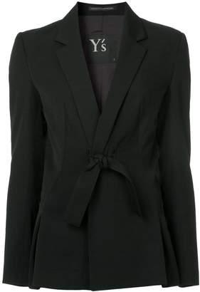 Y's bow tie blazer