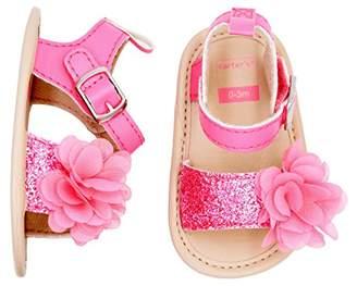 Carter's Girls' Strap Flat Sandal