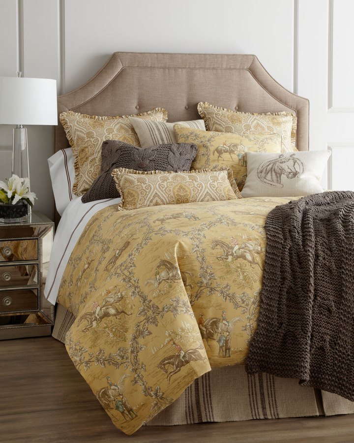 "Amity Home Hayden"" Toile Bed Linens"