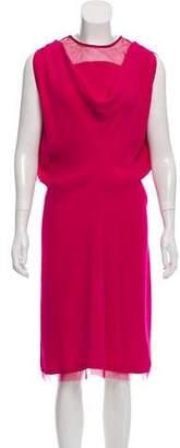 Salvatore Ferragamo Silk Midi Dress