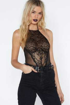 Nasty Gal Crazy Little Thing Called Love Lace Bodysuit