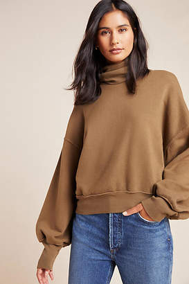 A Gold E AGOLDE Cowl Neck Sweater