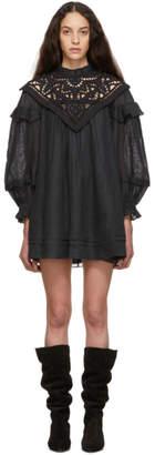 Isabel Marant Black Galia Dress