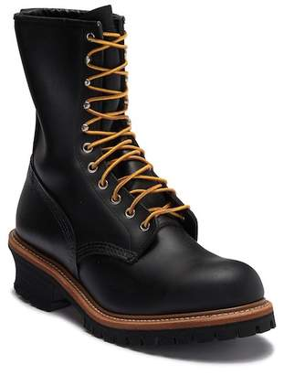 Red Wing Shoes Logger Leather Lace Up Boot